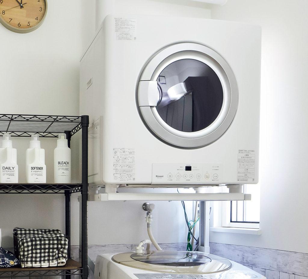洗濯と物干し場